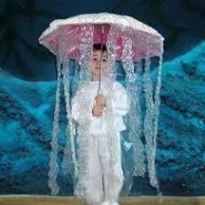 Bubble Wrap Halloween Costume Diy Kid Costume Jelly Fish Halloween Fun Costumes