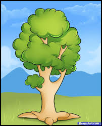 learn how to draw an easy tree trees pop culture free step by