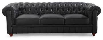 Chesterfield Tufted Sofa by Chesterfield Tufted Leather Sofa Traditional Sofas By