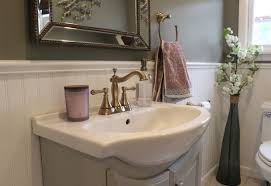 Powder Room Reno 12 Oaks Two Diy Addicts Transforming A Home And 5 Acre Property