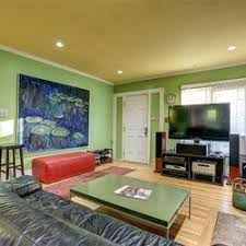 Blue And Green Bedroom Seahawks Blue And Green Define This 580k Bungalow Curbed Seattle