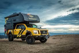 nissan titan camper interior hellwig suspension products debuts 2016 nissan titan xd overland