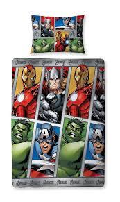 Avengers Duvet Cover Single Character World Disney Marvel Avengers Team Single Rotary Duvet