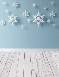 photo backdrops for photo op backdrop the snowflakes painted white silver