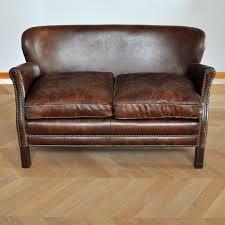 canapé et fauteuil en cuir canapé turner cuir 2 places de chehoma