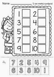 numbers to 10 huge printable kindergarten math worksheet pack