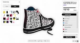 customize your own design your own chuck shoes