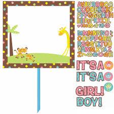 baby shower jungle theme clipart clipartxtras