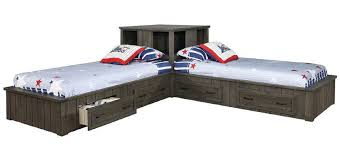 marvelous corner twin beds and ana white storage beds twin with