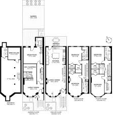 Garden Floor Plan Lovely 19th Century Brooklyn Heights Brownstone With Landscaped