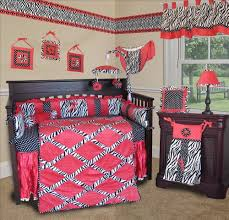 Pink And Black Crib Bedding Sets Pink Zebra Baby Bedding Set By Sisi Will Help You Create An