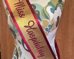 personalized sashes personalized sash etsy