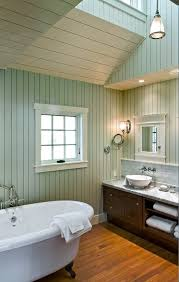 Beadboard For Bathroom Beadboard On Bathroom Ceiling Bathroom Beach Style With Cosmetics