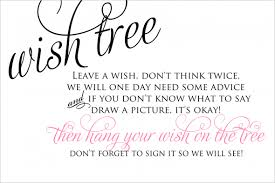Sayings For Wedding Help Wording On Wishing Advice Tree Weddingbee