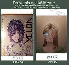 I Dunno Meme - draw this again meme 1 year by i dunno 7 on deviantart