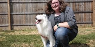 american eskimo dog rescue michigan meet braille a dog born blind and deaf that plays piano