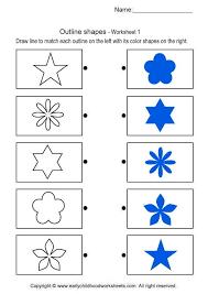 outline shapes brain teaser worksheets 1