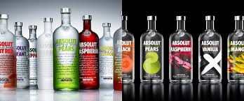 absolut vodka design brand new new packaging for absolut vodka flavours by the brand union