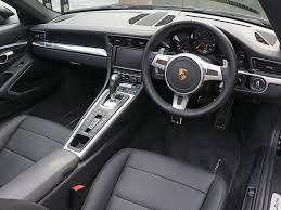 porsche black interior porsche 991 carrera cabriolet black edition surrey near london