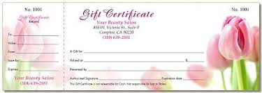 gift certificate printing printing for nails