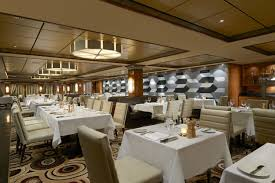 allure of the seas cruise ship dining and cuisine