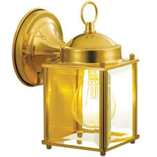 brass gold outdoor wall mounted lighting outdoor lighting