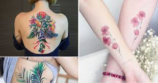 most beautiful floral tattoos for your inspiration