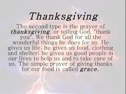 Thanksgiving Pray Prayer Presentation
