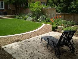 exterior natural simple design of the front backyard landscaping