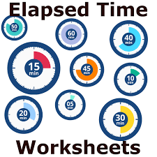 Telling Time To The Nearest Minute Worksheet Telling Time Worksheet Elapsed Time