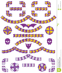 origami borders halloween stock vector image 41478153