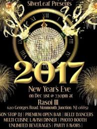 new years events in nj new year party 2017 at rasoi iii 620 georges road manmouth