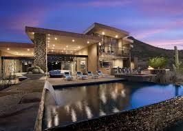 pics of modern houses beautiful modern house in desert