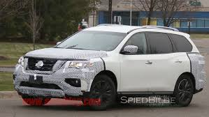 nissan altima 2016 facelift 2017 nissan pathfinder facelift spied without camo auto moto