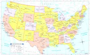 A Map Of Usa by Usa Map Usa Map Bing Images Us States Cities And Throughout Map