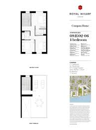 sqm to sqft royal wharf the townhouses plan book by ballymore group issuu