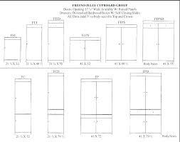 cabinet door sizes chart cabinet door size chart www resnooze com