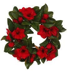 magnolia leaf wreath and magnolia leaf wreath 24