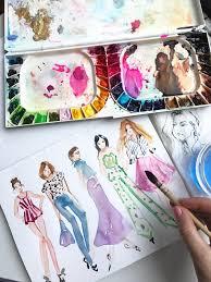 fashion sketchbook benefits keeping an art journal