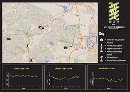 Nike Map Marathon Route Map
