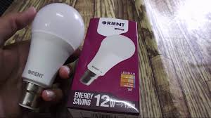 orient led bulb in pakistan 12 watt led bulb youtube