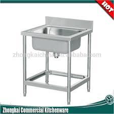 Metal Material Stainless Steel Kitchen Sinks For Kitchen Hotel - Restaurant kitchen sinks