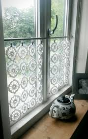 Bathroom Curtain Ideas Pinterest by Curtain Best Crochet Curtains Ideas Only On Pinterest Cortinas For