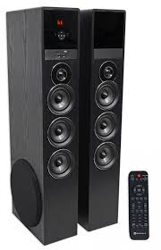 sony home theater with tower speakers rockville tm150b bluetooth home theater tower speaker system 2