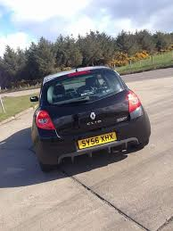 renault megane 2004 sport renault clio sport 197 black 82k immaculate in inverness