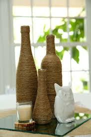 Diy Wine Bottle Vases 20 Creative Diy Wine Bottle Ideas Home Design And Interior