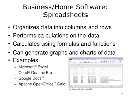 Spreadsheet Graphs And Charts Introduction To Computer Science Ppt Download