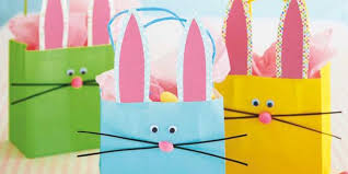 easter bags take these bunny gift bags on a easter egg hunt