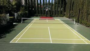 beautiful backyard multi sport court architecture nice