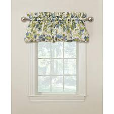 Valance Blue Window Valances Window Scarves Kmart